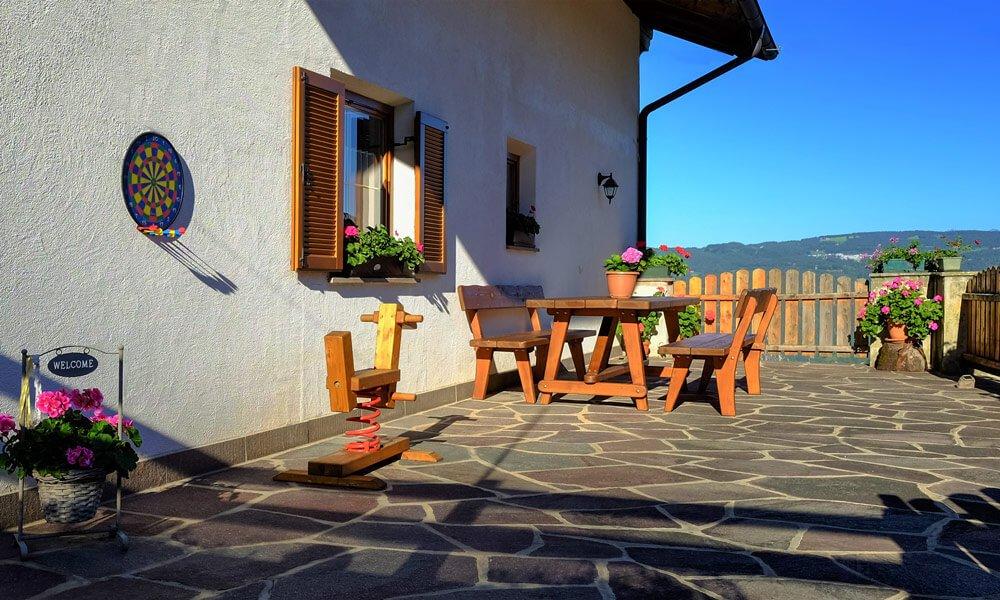 Urlaub auf dem Bauernhof am Fuß der Dolomiten